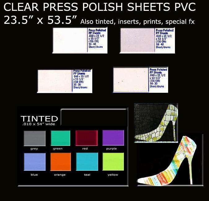 PRESS POLISH SHEETS
