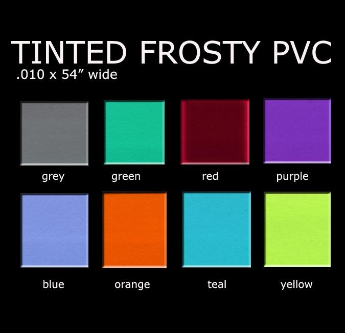 FROSTY TINTED COLORS