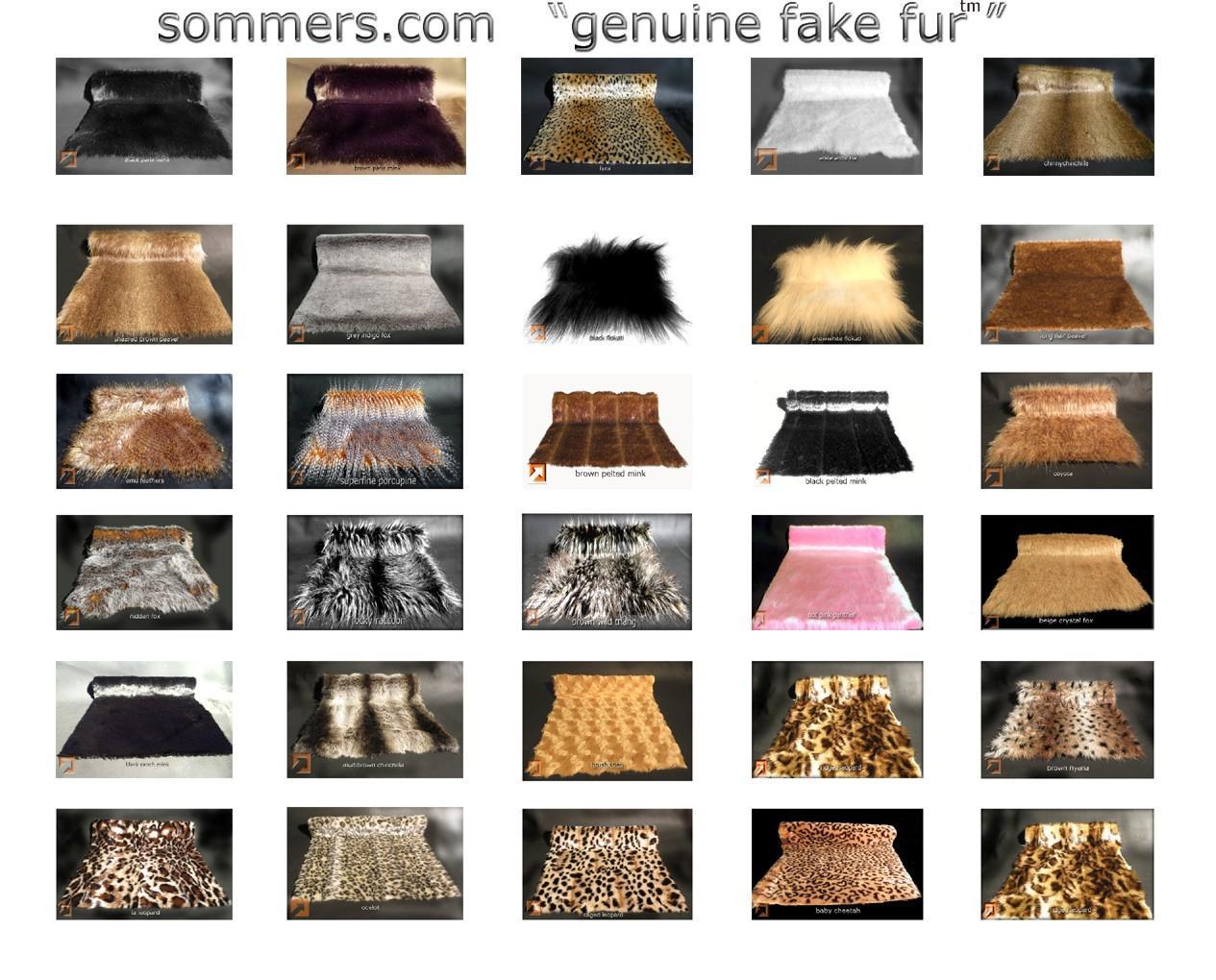 """""""Genuine Fake""""tm Fur Composite"""