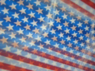 Stars and Stripes Lenticular Sheet
