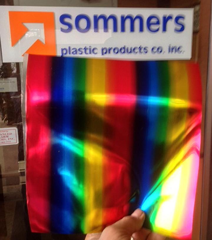 Rainbow Holographic .010 Film