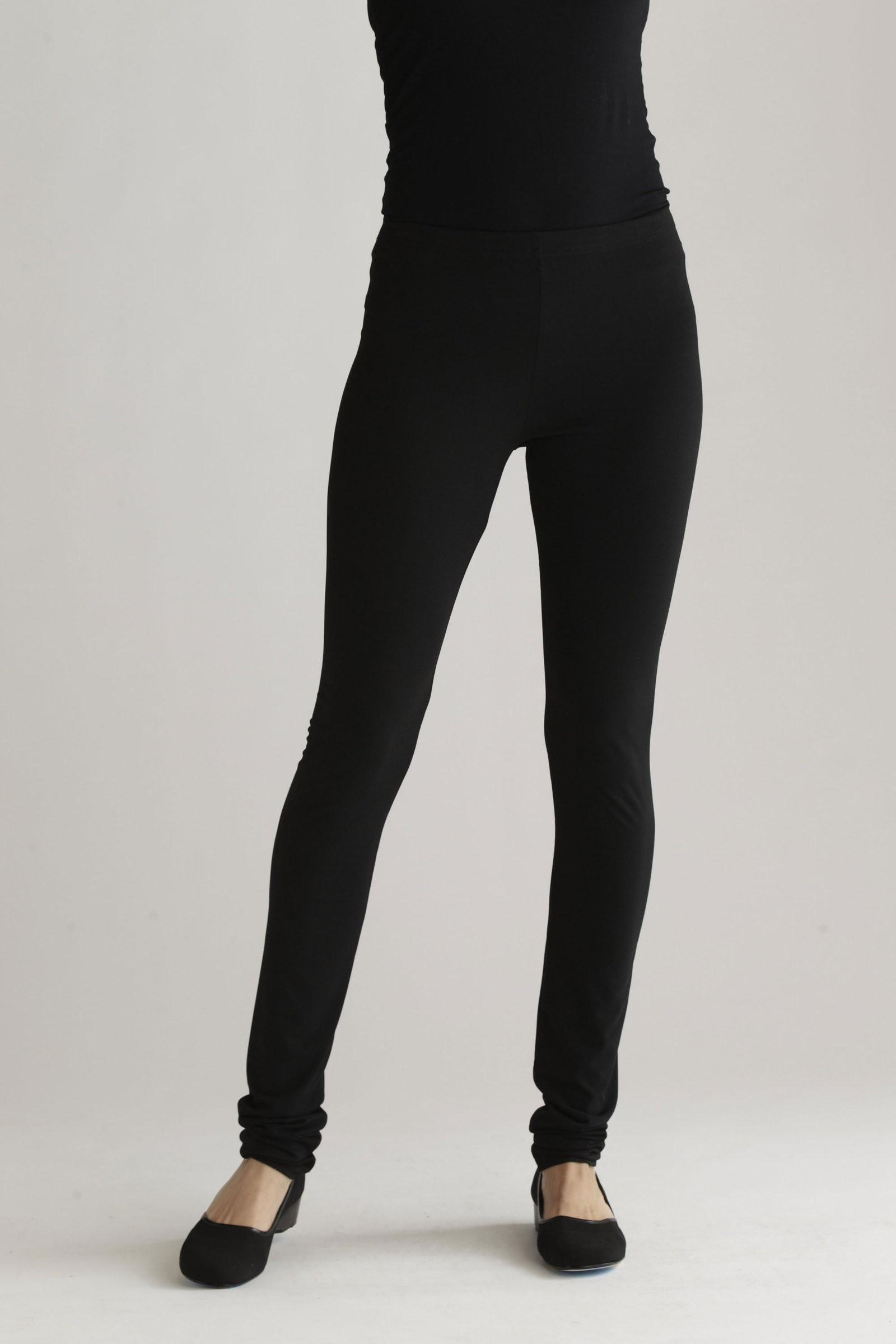 Black Elasto Leggings