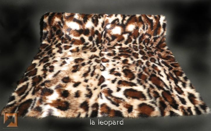"""""""Genuine Fake""""tm LA Leopard Fur"""