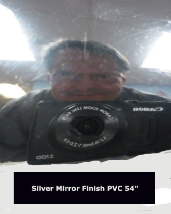 Silver Mirror Finish