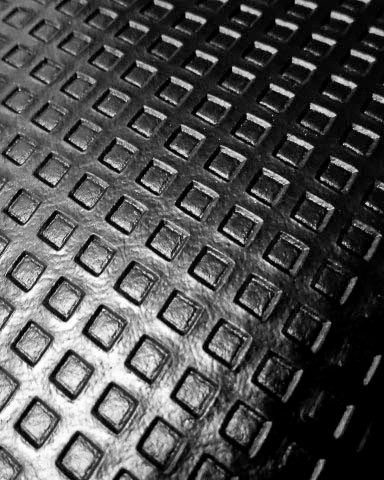 Reverse Diamond Embossed PVC