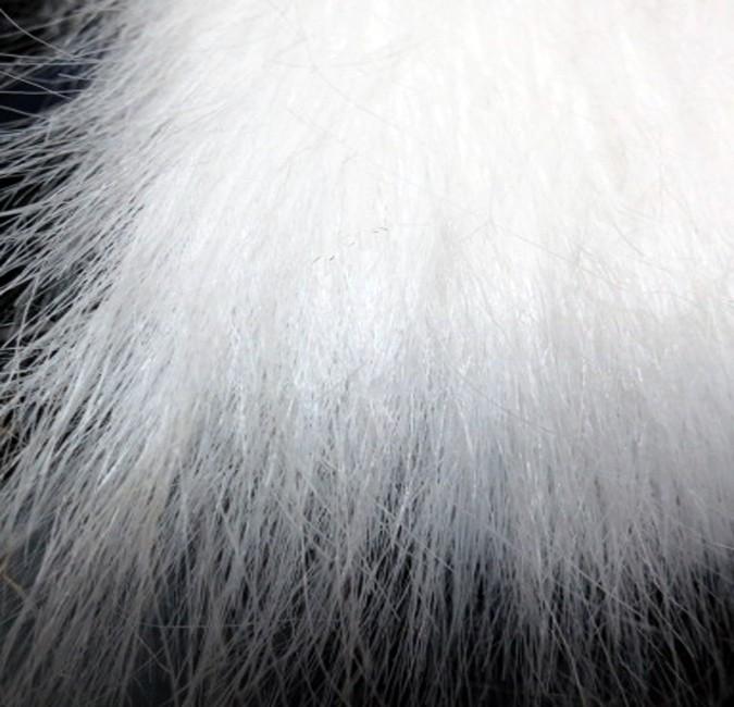 Snow White Flokati Fur