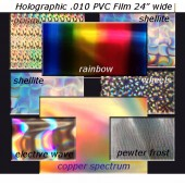 Holographic Color Card