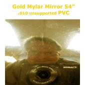 Gold Mylar Mirror Finish PVC