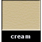 Cream Waxy Pleather