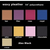 Waxy Pleather Polyurethane